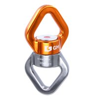 anchor swivels - 30KN Climbing Rope Swivel Connetor Full Bearings lbs Rope Rotating Anchor For Arborist Rescue Hanging Swing Setting