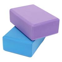Wholesale Yoga EVA Foam Block Brick Foaming Stretch Home Exercise Gym Exercise Fitness x14 x7 cm