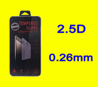 Wholesale Stock in US Tempered Glass For iphone Screen Protectors For Iphone D Explosion Shatter Film box