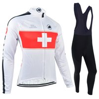 acrylic shrink - Winter Pro Team Hot Sale Cycling Jerseys Road Cycling Clothing Anti Bacterial Long Sleeves Sets Can Choose Mixed Sizes Bikes Clothes AOS