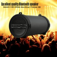 Wholesale SKYUNION New Outdoor sports Subwoofer Bluetooth Speaker Wireless mAh Powerful Portable Speakers by radio FM mp3 player