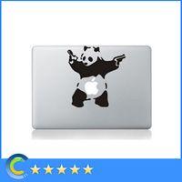 Wholesale Laptop Stickers Kung ku Panda Vinyl Laptop Decals Sticker for New Macbook macbook Air Pro Retina Skin sticker cover