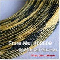 best contact brands - high density brand new best quality mm mixed color insulation high temperature PET braiding cable sleeving for mm cable