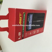 aa nimh charger - 18650 battery charger AWT L2 portable battery charger US Plug UK AU EU plug nimh aa battery battery charger charger