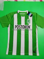 Wholesale 2017 Top thailand quality AtleticoNacional home and away soccer jersey football suit S M L