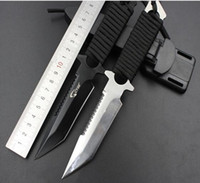 bag tie tool - pocket tool hunting knife survival outdoor knives knife survival knife set throwing knife diving Knives Tied hand knife with nylon bag
