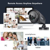 Wholesale SANNCE CH HDMI Surveillance DVR TVL Outdoor IR Home Security Camera System