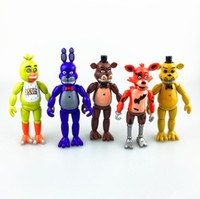 animation gifts - Five Nights At Freddy s PVC Hand To Do Animation Model Toys CM with A Light Children s Gifts
