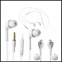 Wholesale Original mm In Ear Handsfree J5 Earphone Headset with MIC and Volume Control headphone for Samsung Galaxy S4 S5 note s6 s7