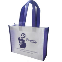 bags manufacture - 500pcs white color wenzhou manufacture cheap price handled eco friendly customer promotion pp non woven shopping bag