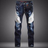 american hawks - Luxury Designer Mens fashion D Hawks biker jeans man hip hop cotton Cargo pants Famous brand skinny jeans for men vaqueros hombre