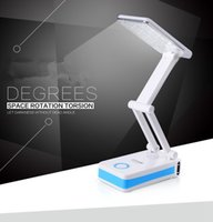 acid rechargeable - reading light Folding LED desk reading light folding tablet lamp Dream LED table Dimmable desk lamp CA1391