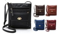 Wholesale New brand PU Leather Satchel Womens Solid Cross Body Shoulder Messenger tote Bags