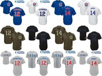 bank sizes - 2016 World Series patch Youth Chicago Cubs Kyle Schwarber Ernie Bank kids Baseball Jersey cool base stitched size S XL