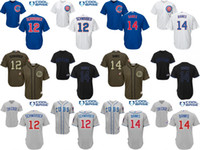 banking jersey - Youth Chicago Cubs Kyle Schwarber Ernie Bank kids Baseball Jersey cool base stitched size S XL