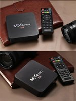 Wholesale MXQ Pro K TV Box Amlogic S905 Quad Core Android Ultra K Streaming Kodi16 full load Android Box MXQ pro with WiFi HDMI DLNA