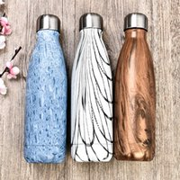 Wholesale 350ml swell vacuum flask double wall stainless steel insulated water bottle good quality cola bottle