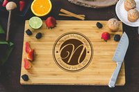 Wholesale Personalized Wedding Party favors and gifts Custom Engraved Wooden Cheese Board Wood chopping Board bamboo cutting boards