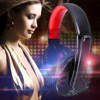 El auricular sin hilos vendedor caliente de la venda del juego de los auriculares de OVLENG V8 Bluetooth EDTAK con el receptor de cabeza profesional del juego video de Mic libera el envío