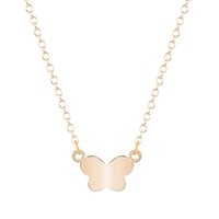 beautiful baby animals - 10pcs New Style Vintage Beautiful Baby Butterfly Pendant Necklace Gift for Women and Girls