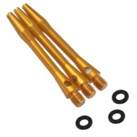 aluminum shaft collar - Cuesoul Set ba Medium Aluminum Dart Shafts with O rings Dart Stems shaft collar stainless steel
