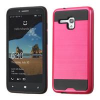 al por mayor alcatel one touch phone case-Venta caliente híbrido de protección Lars Marte Armor teléfono Funda para Samsung Galaxy ON5 LG Stylo 2 Plus Alcatel One Touch Fierce 5054