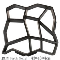 Wholesale JMJN DIY Plastic Path Maker Mold Manually Paving Cement Brick Molds The Stone Road Auxiliary Tools For Garden Decor
