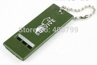 Wholesale Outdoor Whistle Survival Whistle Train whistle keychain emergency whistle by DHL Fedex
