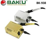 Mini-station de soudage Avis-BAKU Station de soudure BK-938 Mini Solder 220V / 110V, machine rapide Chauffage Fer à souder Soudage-Equipement pour réparation Téléphone