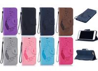 achat en gros de moins chers cadres photo-Le moins cher! Porte-monnaie étui en cuir PU pour iPhone 7 7plus 6S Housse Etui Avec fente pour carte Cadre photo Cas Opp emballage 100pcs Livraison gratuite