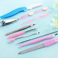 beauty nail kits - Professional Nail Tool Kits Beauty Makeup Beauty Tools Nail Tools in Sets of Exfoliating Many Styles Women Nail Art Tool Kits