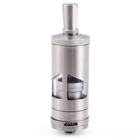 Wholesale Tf II V2 Style RTA Stainless Steel Rebuildable E Cigarette Atomizer Thread SILVER mm diameter
