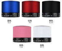 Altavoz portátil Altavoces Bluetooth S10 Mini Hi-Fi inalámbrica del reproductor de música estéreo de los subwoofers Inicio Apoyo TF Audio FM reproductor de mp3