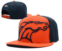 baseball denver - Hot Sale American Football Team Snapback Hat Denver Baseball Cap Outdoor Sports Hats For Men Cheap Adjustable Summer Hat Mix Order