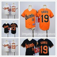 adam kid - Youth Baltimore Orioles Jersey Baseball MLB Kid Boys Adam Jones Manny Machado Chris Davis White Orange Black Cool Base