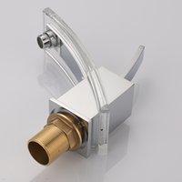 Wholesale BAKALA younger modern bathroom faucet basin mixer brass glass tap Chromed LH