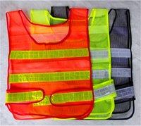 Wholesale Hi Vis Viz Reflective Vest Waistcoat for Horse Riding Adjustable Fit High Visibility Visible Tape Safety Jacket Coat Tops