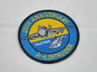 anniversary cross stitch - Navy A Intruder Intruder attack aircraft in service to commemorate the th anniversary badges armband