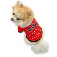 Wholesale Summer Pet Puppy Small Cat Pet Dog Clothes Vest Raindrop style T Shirt Apparel Hot