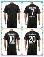 bender shirts - New Product Uniforms Kit Bayer Leverkusen Hernandez Bender Calhanoglu Kiessling Black Away Soccer Jersey full shirt