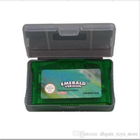 Wholesale 5pcs Halloween gameboy advance gba games poke gba game with US English version for children for Halloween Christmas gifts