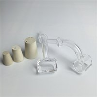 bending rubber - clear quartz trough domeless nail with degree degree joint rubber stopper with male mm mm mm work with glass adapter