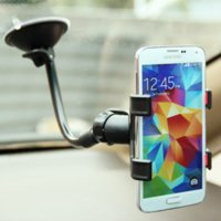 Cheap Universal Car Phone Holder For Iphone 6 6s plus 5 Glass Sticky Car Holder Stand Support Rotatable Bracket For Samsung GPS Holder