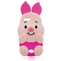 apple pigs - Cute Cartoon D Pig Mobile Phone Accessories Iphone S PLUS Samsung A310 Case A510 A710 Silicone Cell Phone Cases