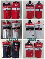 Wholesale Washington alta calidad John wall Bradley beal Paul Pierce jersey size extra small xS S xl