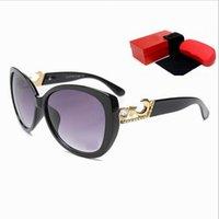 big brown eyes - Newest Carter Sunglasses Fashion Women Outdoor Eyeglasses Brand Designer Crescent Diamond Big Frame Lady Oversized Sunglasses Gafas