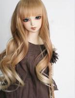 Wholesale New BJD SD DOC DOD LUT Pullip Dal MSD Dollfie Doll Wig short Straight FA37