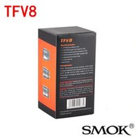 Wholesale New SMOK TFV8 Tank Full Kit ml Top Refill Sub ohm tank TFV8 Cloud Beast Tank With V8 T8 V8 Q4 Coil clone via TFV4