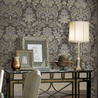 Wholesale Classic Italian style m width m length pvc vinyl wallpaper waterproof suitable for home deco with price and high quality