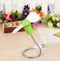Wholesale Mini notebook USB fan serpentine fan mute soft flexible